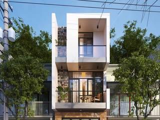 CTY KIẾN TRÚC VÀ NỘI THẤT HP-HOUSE Casas modernas