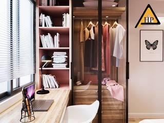 CTY KIẾN TRÚC VÀ NỘI THẤT HP-HOUSE Vestidores de estilo moderno