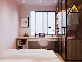 CTY KIẾN TRÚC VÀ NỘI THẤT HP-HOUSE Habitaciones modernas