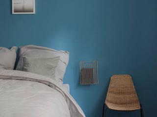 VINTAGENCY Dormitorios de estilo ecléctico Azul