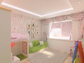 Гузалия Шамсутдинова   KUB STUDIO Спальня для дівчаток