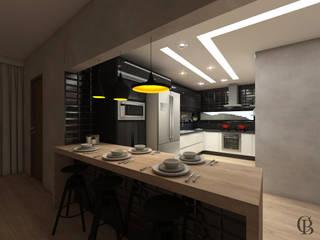 Cozinha Industrial por Caroline Berto Arquitetura Industrial