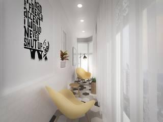 Гузалия Шамсутдинова | KUB STUDIO Balcones y terrazas de estilo clásico