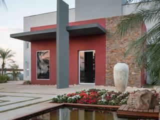 CasaCor Campinas 2016 - Praça e lounge do patrocinador Espaços comerciais modernos por Erlon Tessari Arquitetura e Design de Interiores Moderno
