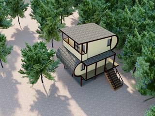 Дом Дабл: Дома в . Автор – Omidom Project