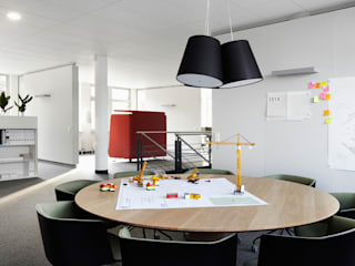 Architekturfotografie & Referenzfotografie für Drees & Sommer AG & Renz Solutions. Architekturfotograf Peter Bajer Moderne Bürogebäude