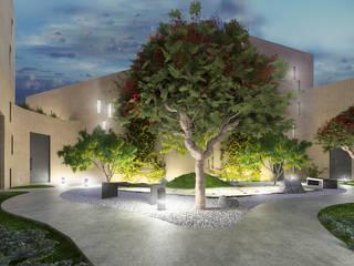 Diseños diversos Jardines modernos de MG estudio de arquitectura Moderno