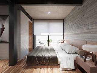 Diseños diversos Dormitorios modernos de MG estudio de arquitectura Moderno