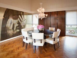 Modern Dining Room at United States: modern  by S. T. Unicom Pvt. Ltd. ,Modern
