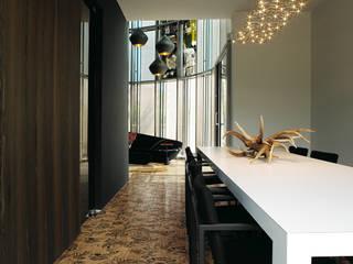 Colora la tua casa con i parquet decorati da Ronald Van Der Hilst di Xilo1934 Moderno