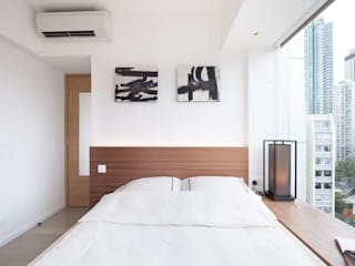 Cherry Crest B Classic style bedroom by Clifton Leung Design Workshop Classic