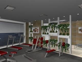 Modern gym by Arch. Giuseppe Barone _ Studio di Architettura & Tutela del Paesaggio Modern