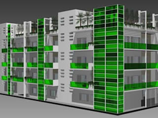 Modern shopping centres by Arch. Giuseppe Barone _ Studio di Architettura & Tutela del Paesaggio Modern