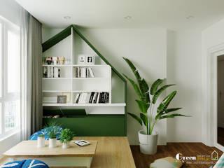 """SEASON AVENUE, ĐẠI LỘ 4 MÙA - """"MÙA HẠ MIỀN NHIỆT ĐỚI"""" Green Interior Sàn Đá hoa Green"""