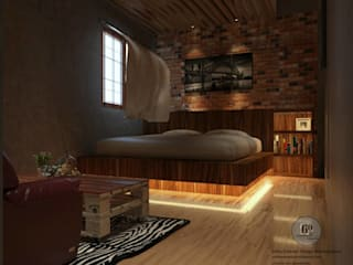 sixty interior design & renovation Eclectic style bedroom