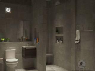 ห้องนํ้า โดย sixty interior design & renovation ผสมผสาน
