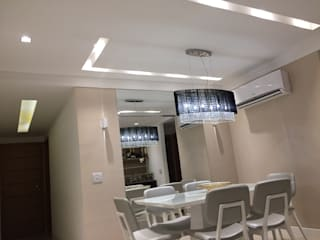 Modern dining room by Bel Ribeiro - Arquitetura, Interiores & Paisagismo Modern