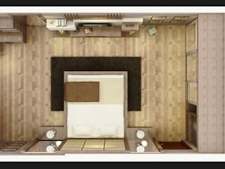 Dormitorios de estilo minimalista de SUKAM STUDIO Minimalista