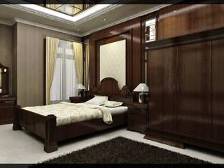 Habitaciones de estilo clásico de SUKAM STUDIO Clásico