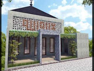 Minimalist house by SUKAM STUDIO Minimalist