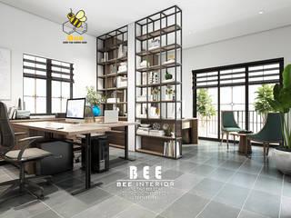 Nội thất văn phòng Bất Động Sản: hiện đại  by Nội thất Bee, Hiện đại