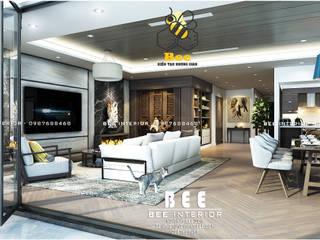 Nội thất căn hộ tư nhân: hiện đại  by Nội thất Bee, Hiện đại
