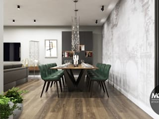 Dining room by MONOstudio,