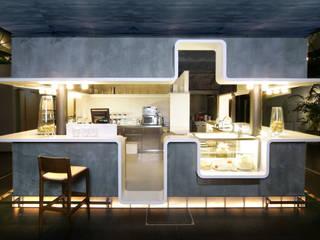 BAR MIT CHARME Moderne Gastronomie von architopia_ Christine Detering Modern