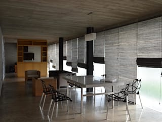 Casa Entre Patios Comedores de estilo minimalista de XXStudio Minimalista