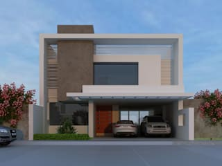 Modern home by CouturierStudio Modern