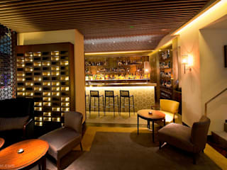 kırlangıç mimari tasarım – cafe de pardeu rotterdam:  tarz Yeme & İçme