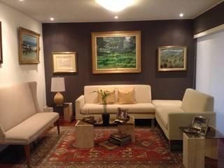 Sala:  de estilo  por Alicia Ibáñez Interior Design