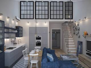 Living room by Tamriko Interior Design Studio