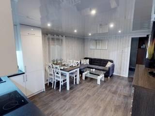 Dining room by DMK Budownictwo Dariusz Dziuba Sp. K., Mobilne Domki Letniskowe i Całoroczne, Modern