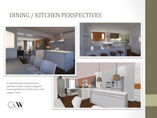 Interior Design Presentation for Loft Penthouse Johannesburg SA by CKW Lifestyle Associates PTY Ltd