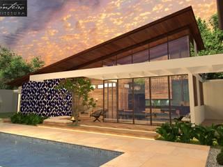 Terrazas de estilo  por Arquiteta Joana Monteiro, Moderno