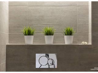 Acogedor apartamento en la costa de Alicante Baños de estilo moderno de AGUSTIN DAVID PHOTOGRAPHY Moderno
