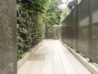 Davide Ceron Architetto Pasillos, vestíbulos y escaleras de estilo moderno