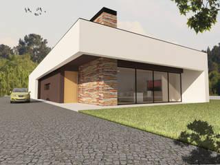 Nowoczesne domy od Pedro Palma Arquiteto Nowoczesny