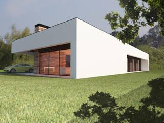 Moradia Unifamiliar  | SJ  | Viseu: Casas  por Pedro Palma Arquiteto