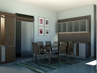 Project Modern dining room by BLUCAP LLP Modern