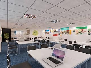 Modern office buildings by Công ty Cổ phần truyền thông ATH Việt Nam Modern