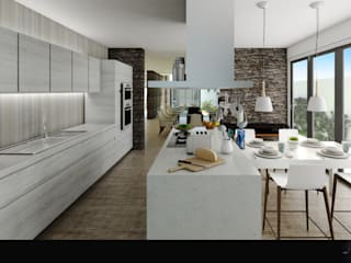 COCINA: Cocinas de estilo  por WIGO SC