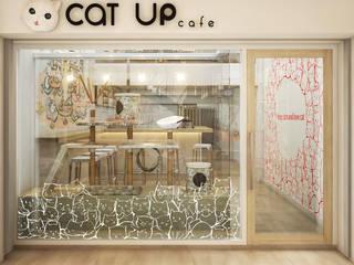 Cat Up Cafe' @ Silom Abilmente Co.,Ltd ร้านอาหาร กระจกและแก้ว