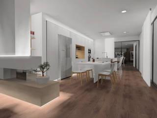 Cozinhas  por CARMAN INTERIORISMO, Moderno