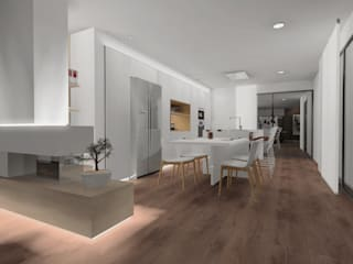 Modern style kitchen by CARMAN INTERIORISMO Modern