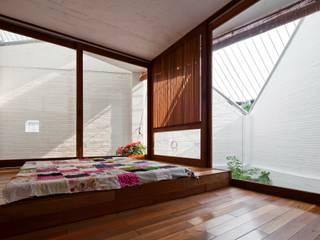 a21house Phòng ngủ phong cách hiện đại bởi a21studĩo Hiện đại