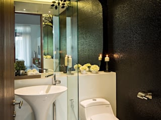 DP+HS Architects 現代浴室設計點子、靈感&圖片