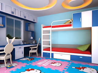Kids Bedroom :   by Antar - A Firm of Interior Designers