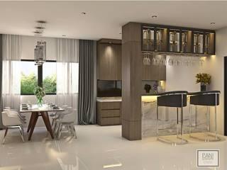 Living Room โดย Pani design
